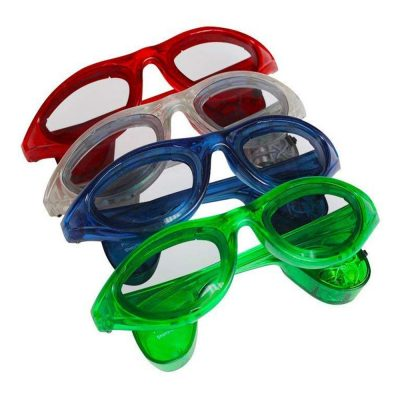 Assorted LED Sunglasses Rainbow Multicolor