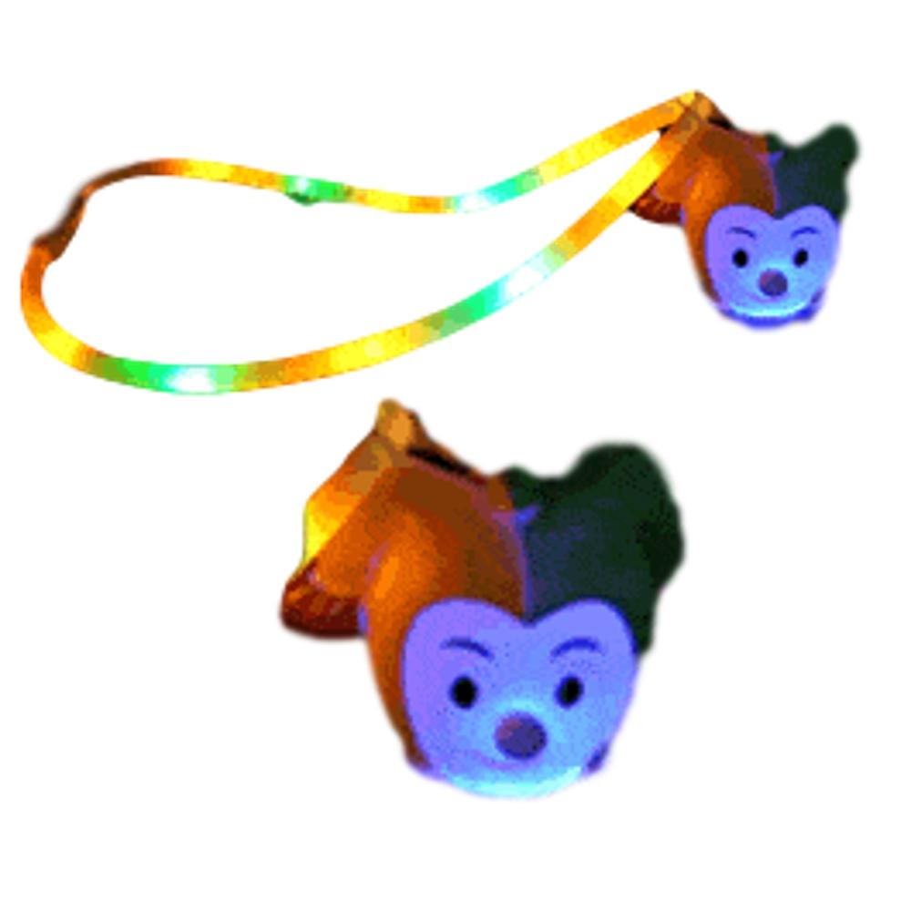 Flashing Jester Charm Necklace with Lightup Lanyard All Products