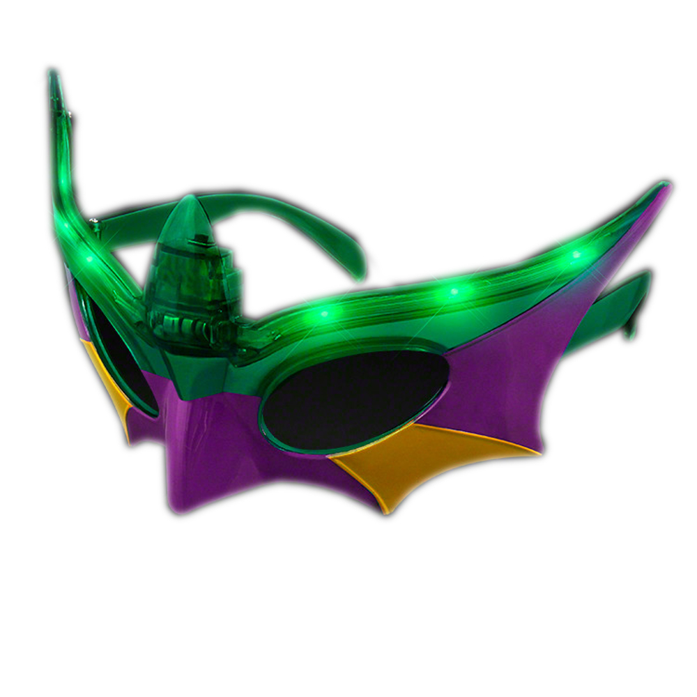 Light Up Mardi Gras Mask All Products