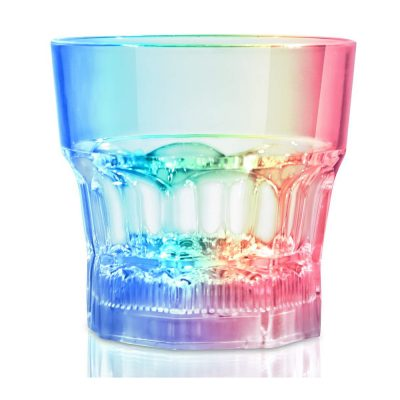 Rocks Glass Rainbow Multicolor
