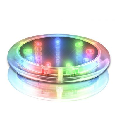 Tunnel Light Coaster LED Light Up Drink Coaster