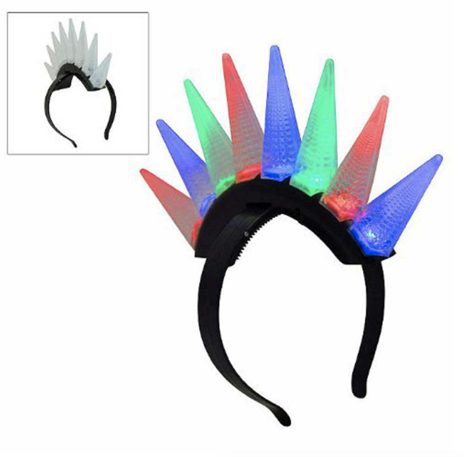 LED Spiked Mohawk All Products