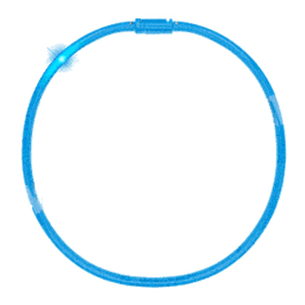 LED Tube Necklace Blue All Products