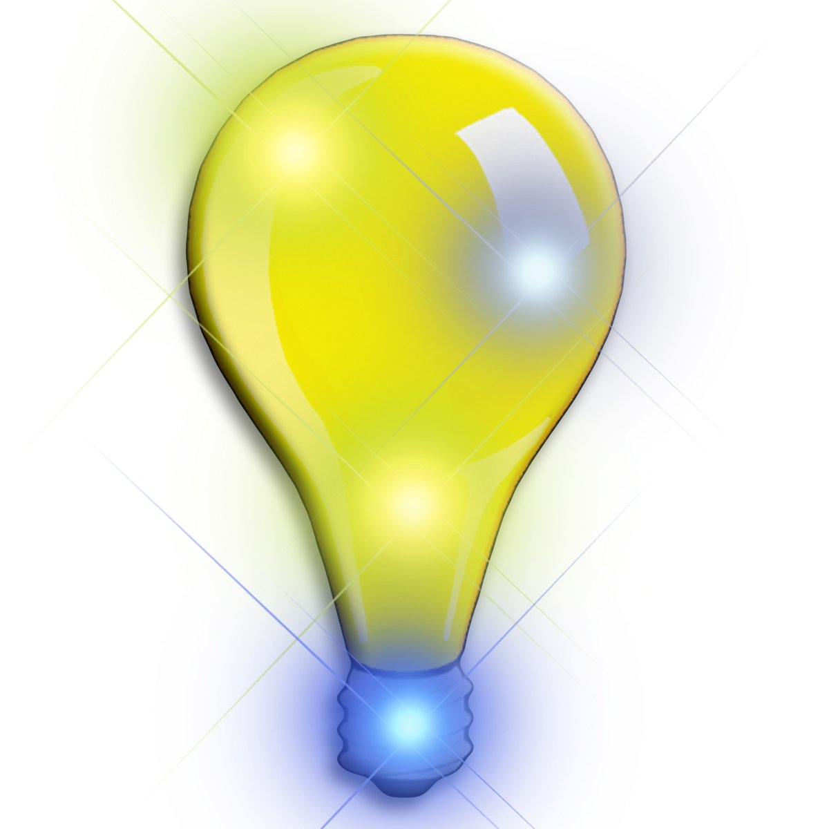 Lightbulb Flashing Body Light Lapel Pins All Body Lights and Blinkees