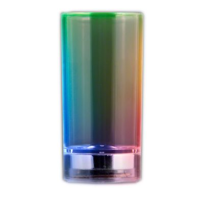 Liquid Activated Shot Glass Rainbow Multicolor