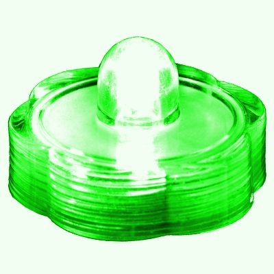 Submersible Floral LED Light Green All Products