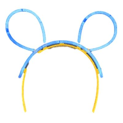Glowstick Animal Ears Headband Assorted All Products