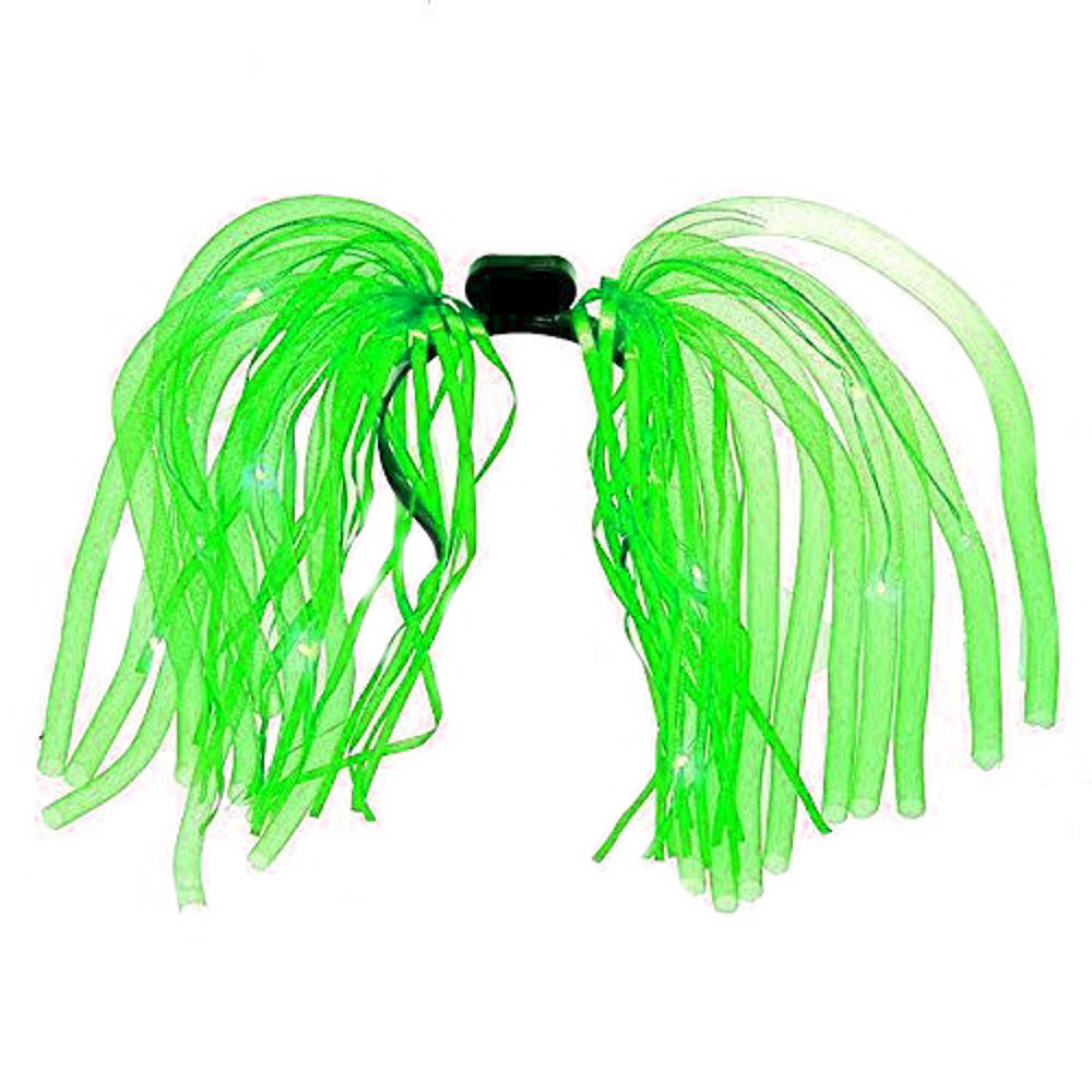 Green LED Noodle Headband Flashing Dreads All Products