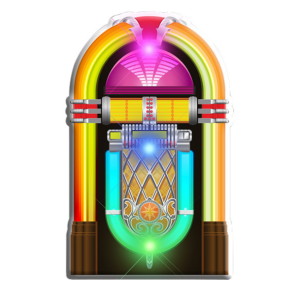 Jukebox Flashing Body Light Lapel Pins All Products