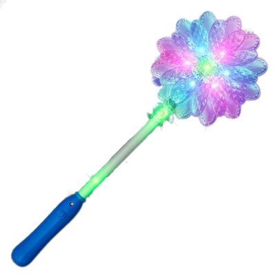 LED Daisy Flower Wand Rainbow Multicolor