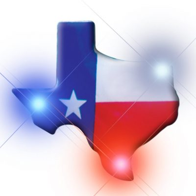 Texas Flashing Body Light Lapel Pins All Body Lights and Blinkees