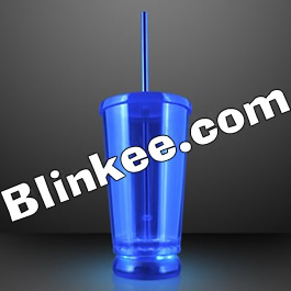 LED To Go Tumbler Blue All Products