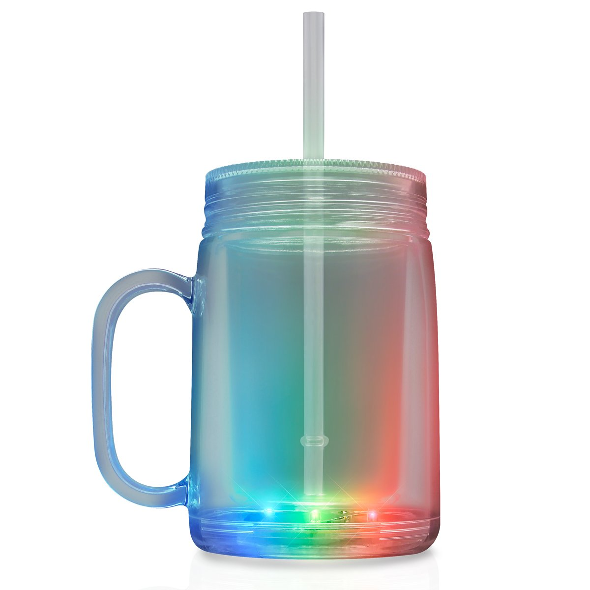 LED Mason Jar Travel Mug All Products