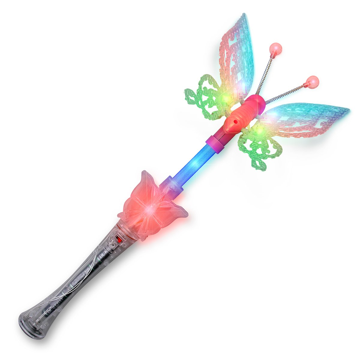 Large Musical LED Butterfly Wand All Products