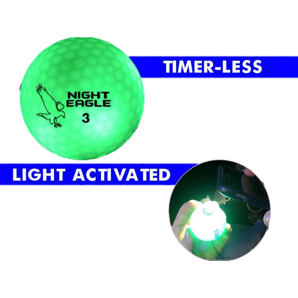 LED Golf Ball Green 1 Unit All Products