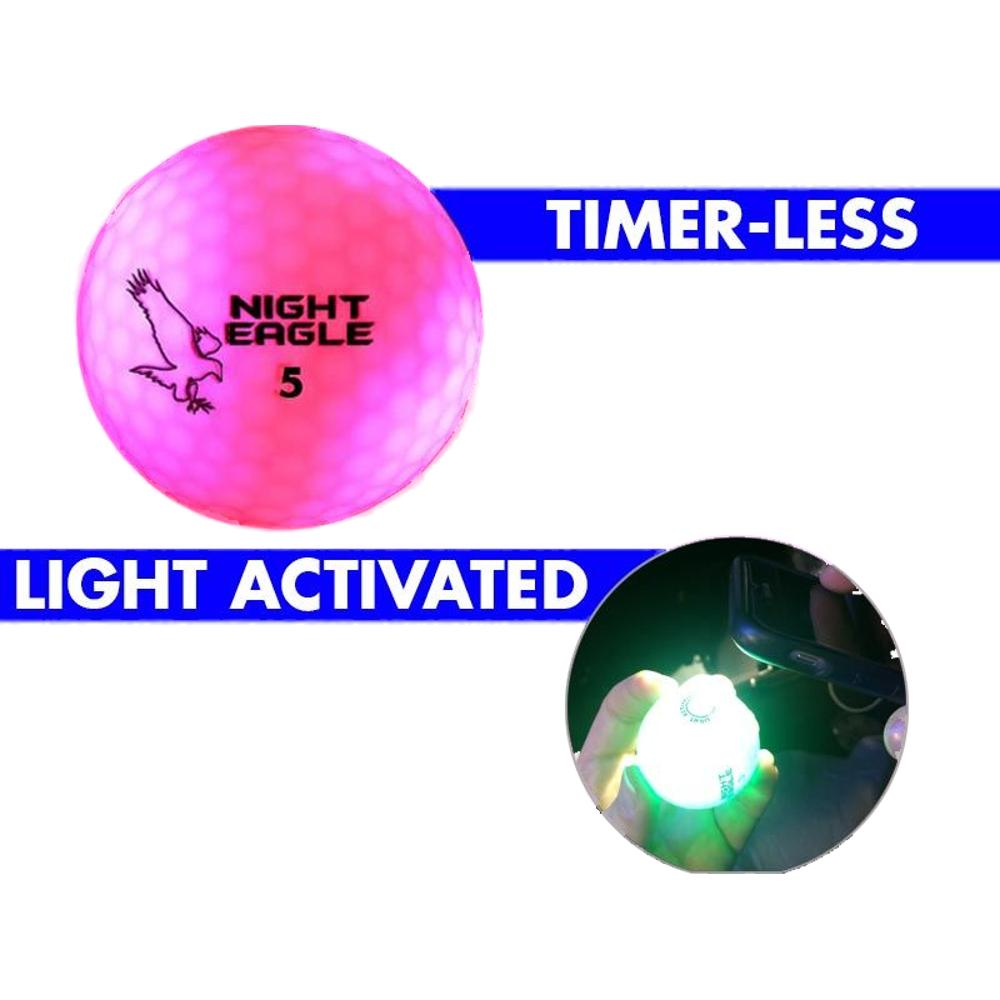 LED Golf Ball Pink All Products
