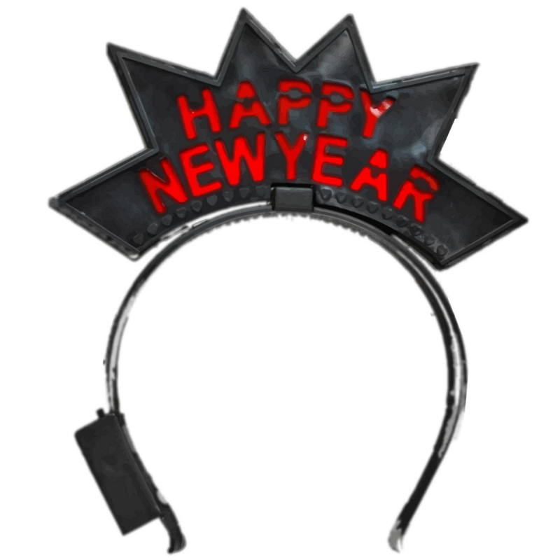 Happy New Year Starburst Headband All Products