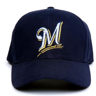 Milwaukee Brewers Flashing Fiber Optic Cap All Products