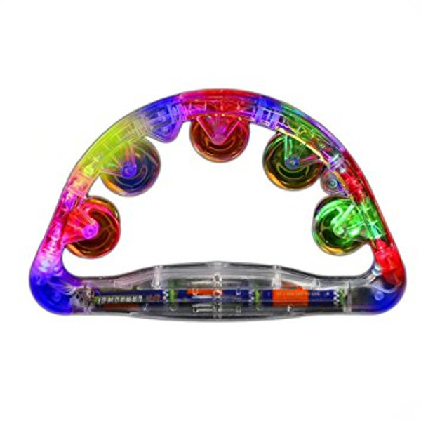 Light Up Large Tambourine All Products