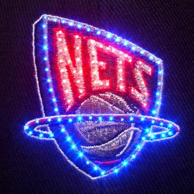 New Jersey Nets Flashing Fiber Optic Cap All Products