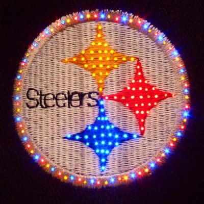 Pittsburgh Steelers Flashing Fiber Optic Cap All Products