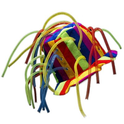 Multicolor LED Noodle Hat Flashing Dreads All Products
