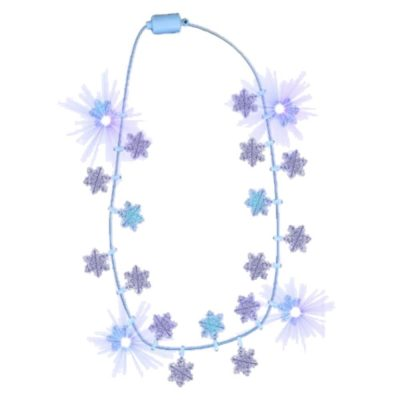Snowflake String Lights Necklace Lighted Christmas Necklaces