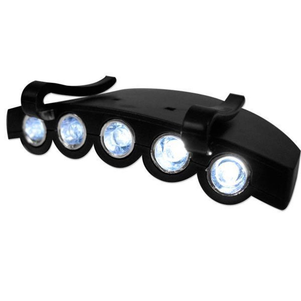 LED Cap Clip Flashlight with White LEDs All Products