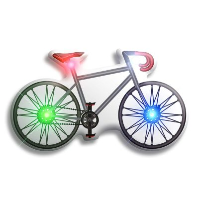 Bicycle Flashing Body Light Lapel Pins All Body Lights and Blinkees