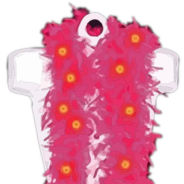 LED Feather Boa Fuchsia All Products