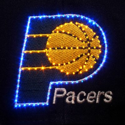 Indiana Pacers Flashing Fiber Optic Cap All Products