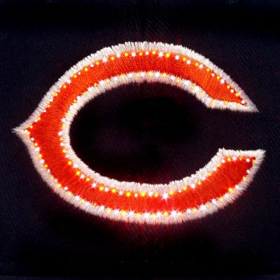 Chicago Bears Flashing Fiber Optic Cap All Products