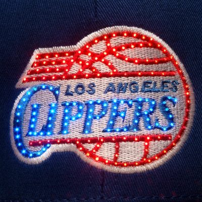 Los Angeles Clippers Flashing Fiber Optic Cap All Products