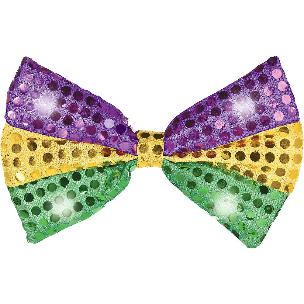 LED Mardi Gras Bow Tie All Products