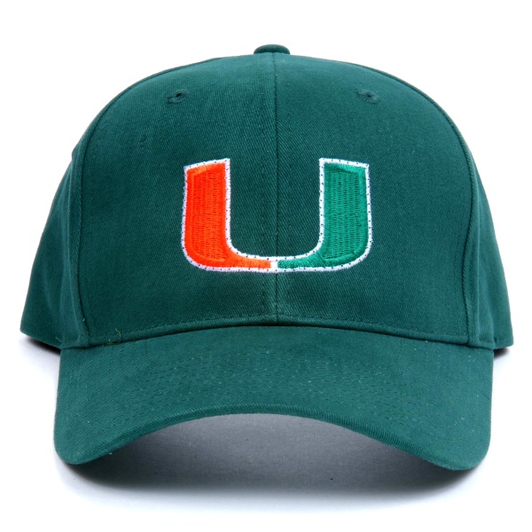 Miami Hurricanes Flashing Fiber Optic Cap All Products