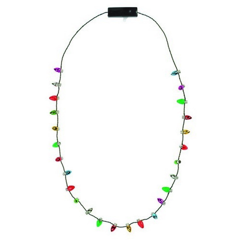 Wearable  Christmas Lights Necklace All Products
