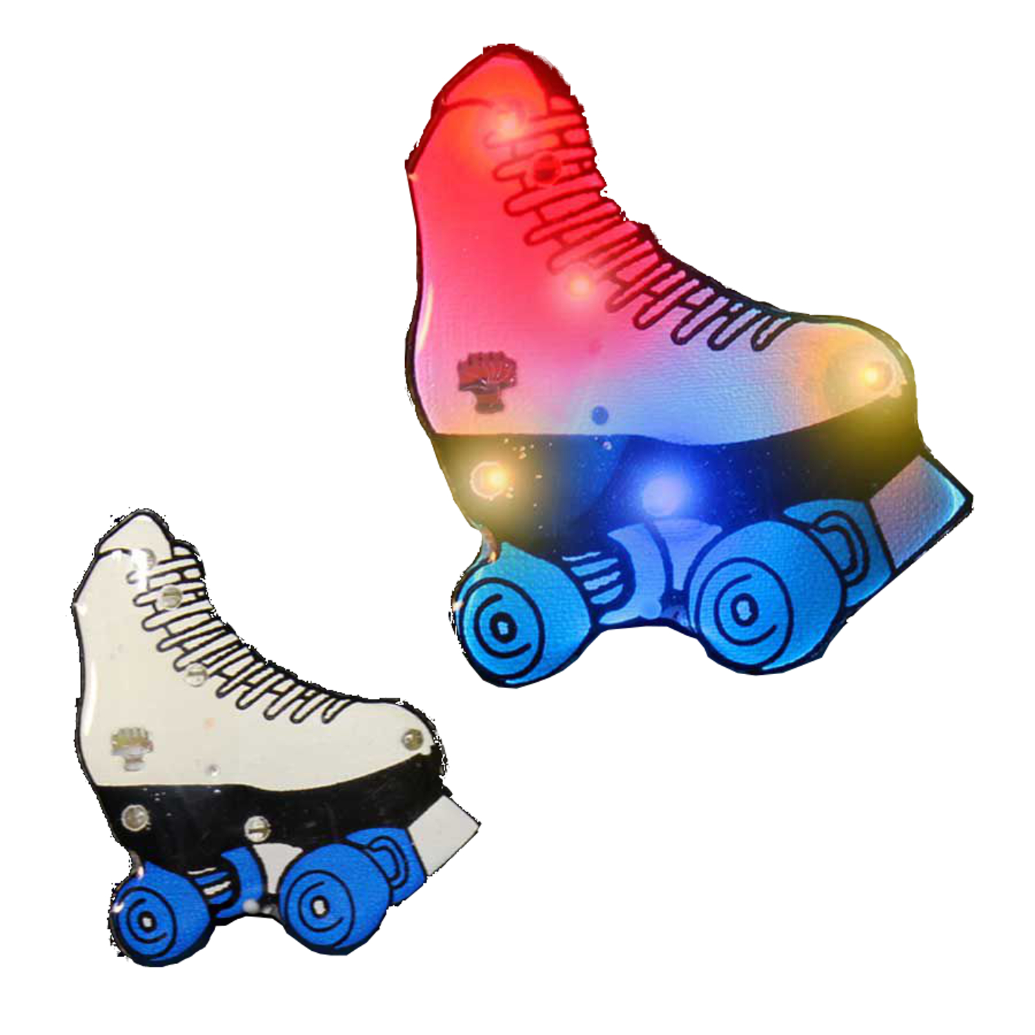 Roller Skate Flashing Body Light Lapel Pins All Products