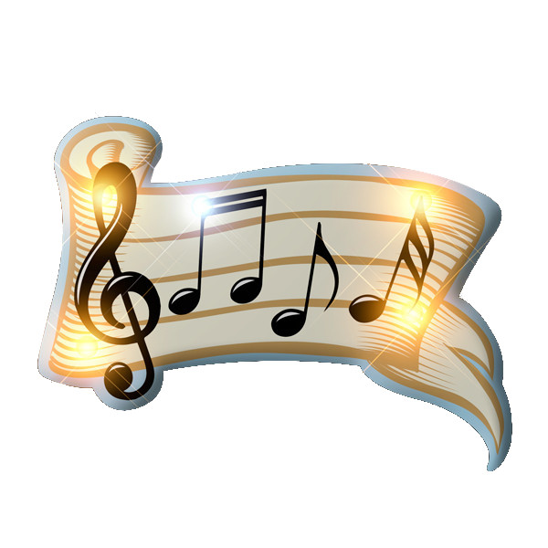 Music Measure Flashing Body Light Lapel Pins All Products