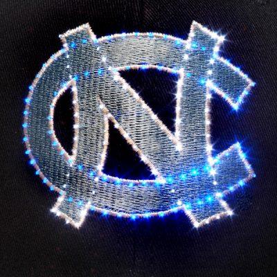 North Carolina Tarheels Flashing Fiber Optic Cap All Products