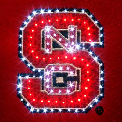 North Carolina State Wolfpack Flashing Fiber Optic Cap All Products