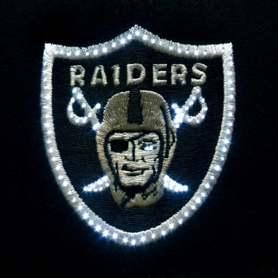 Oakland Raiders Flashing Fiber Optic Cap All Products