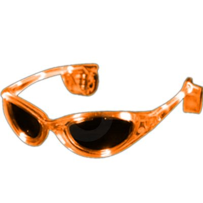 Orange LED Sunglasses Orange