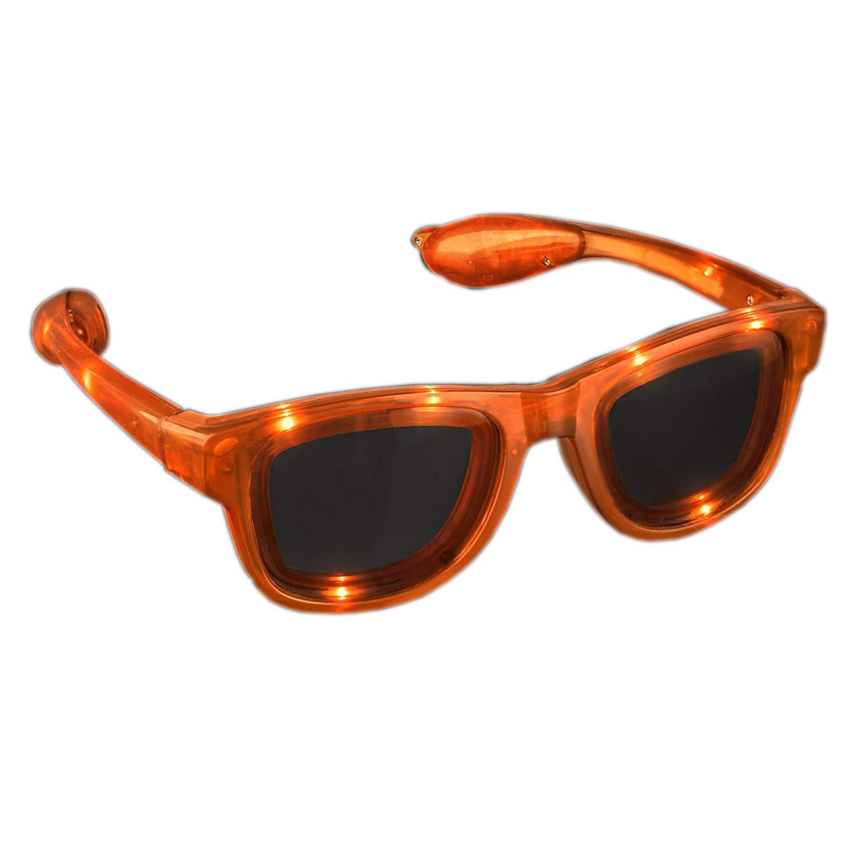 Orange LED Nerd Glasses All Products