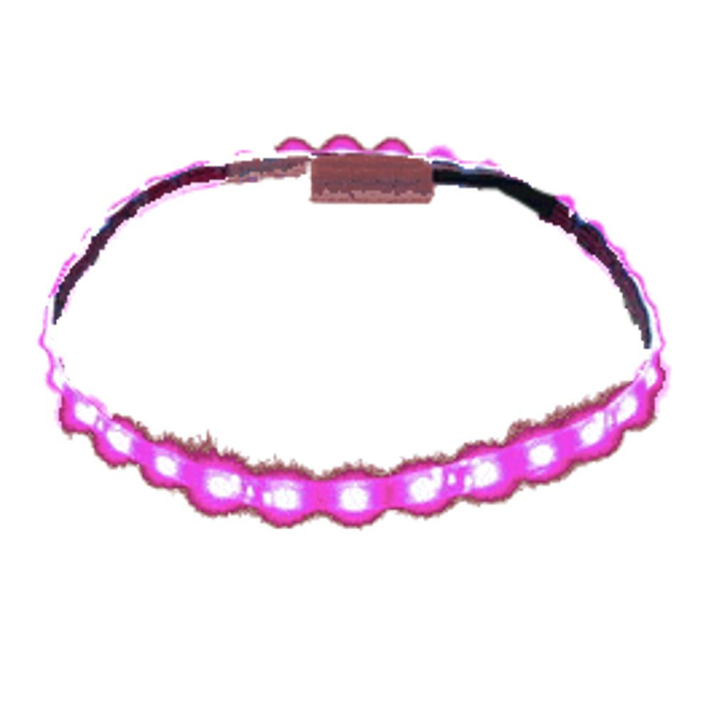Pink LED Flexible Light Strip White Background All Products