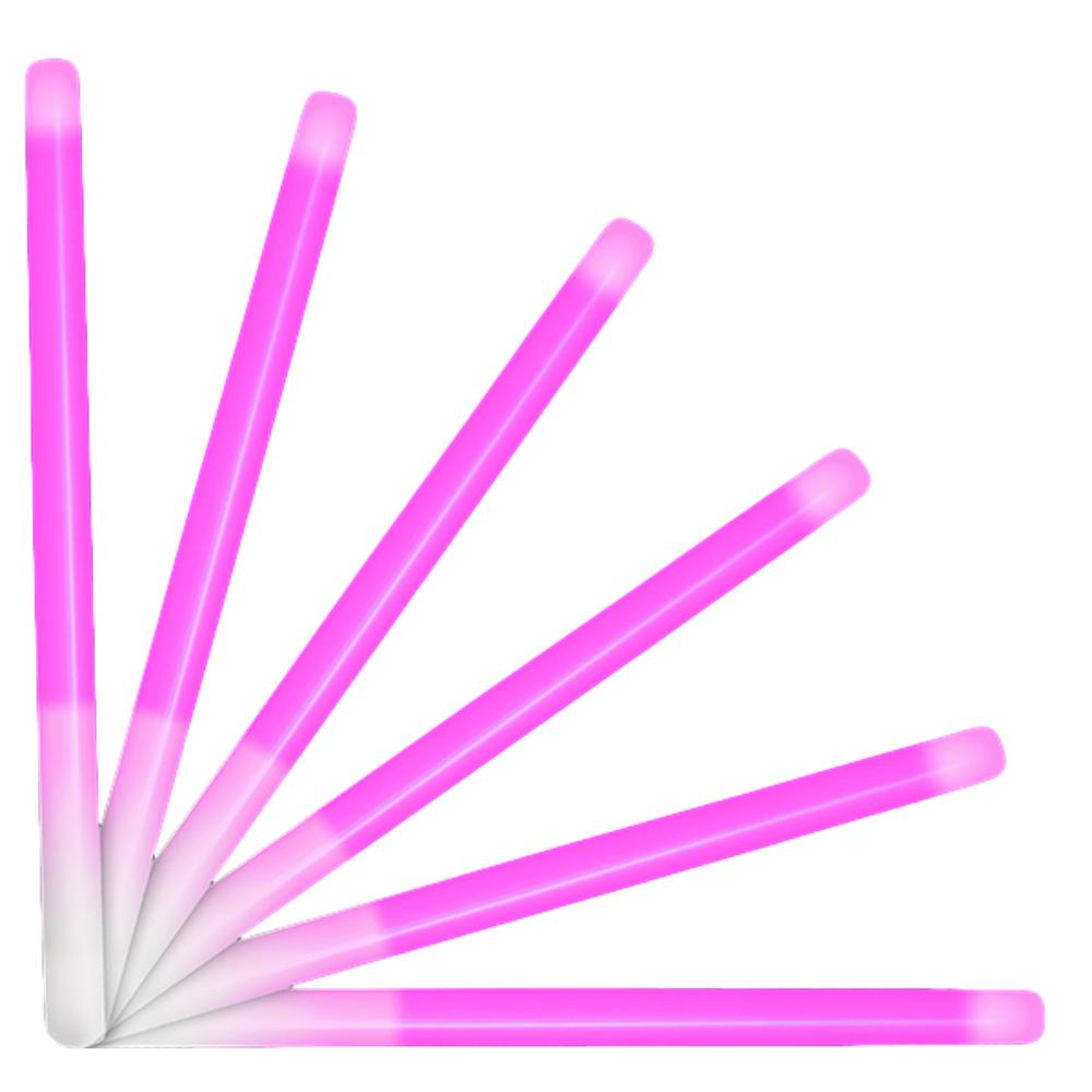 10 Inch Glow Stick Baton Pink Pack of 25 All Products