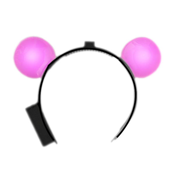 LED Mouse Ears Pink All Products
