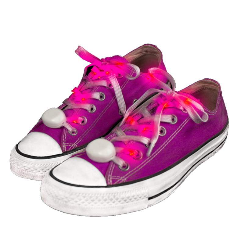 LED Shoelaces Pink All Products