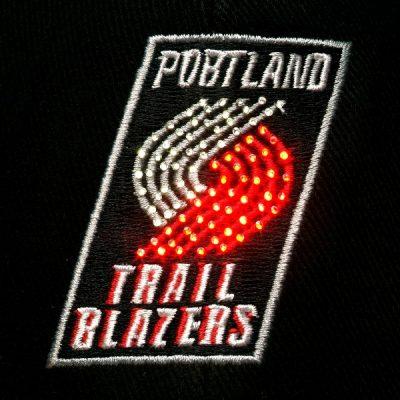 Portland Trailblazers Flashing Fiber Optic Cap All Products