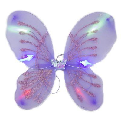 Light Up Purple Fairy Butterfly Wings LED Accessories