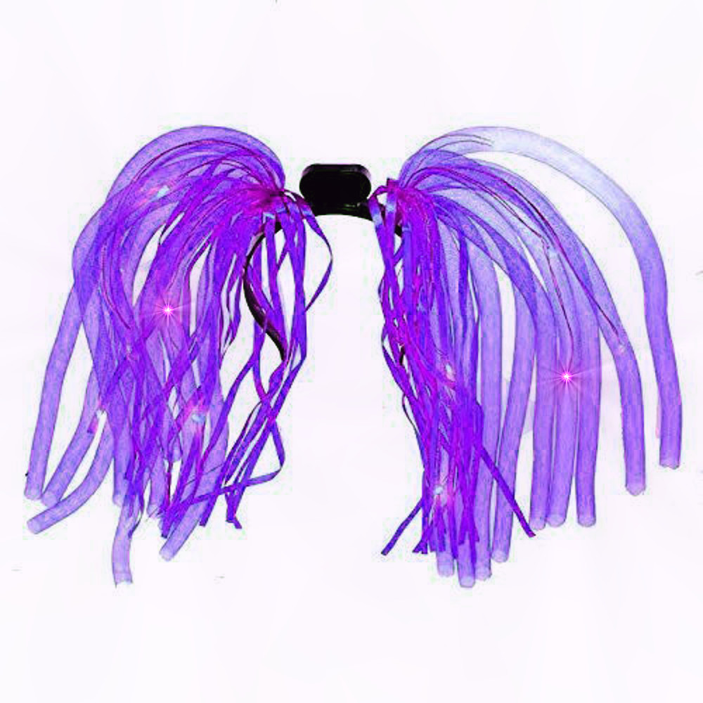Purple LED Noodle Headband Flashing Dreads All Products